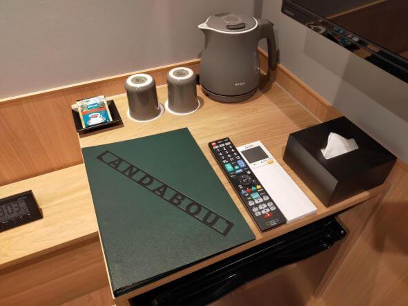ランダバウト 部屋テーブル