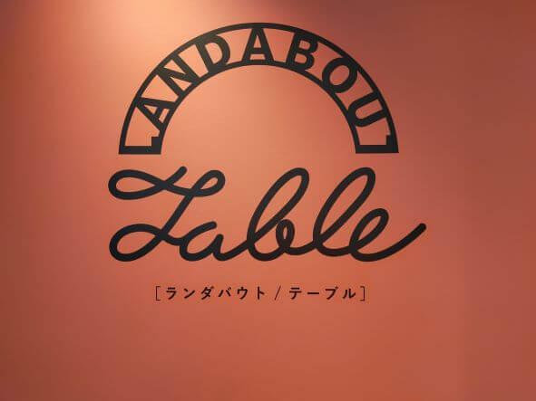 ランダバウトテーブル